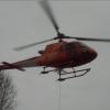 Støyping med helikopter